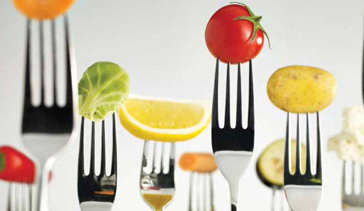 Manage your weight with healthy nutrition