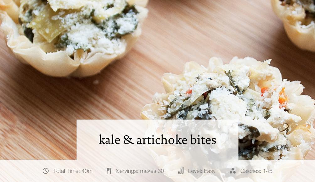 Kale & Artichoke Bites