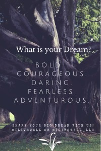 Goal setting,Courageous, daring, fearless, adventurous!