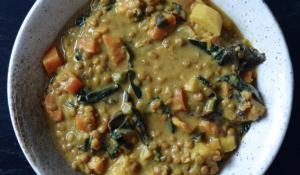 Sunbutter Lentil soup