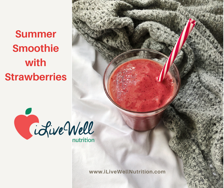 Summer Smoothie with Strawberries