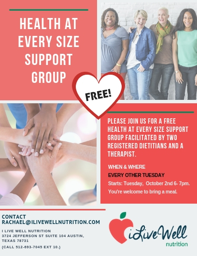 health at evert size free group program austin texas