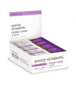 coconut cashew, purely elizabeth, grain-rree superfood bars