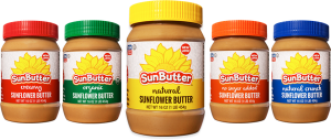 sunbutter is healthy and delicious
