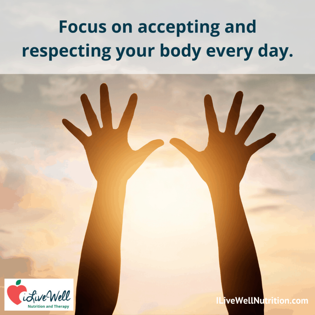 accept and respect your body