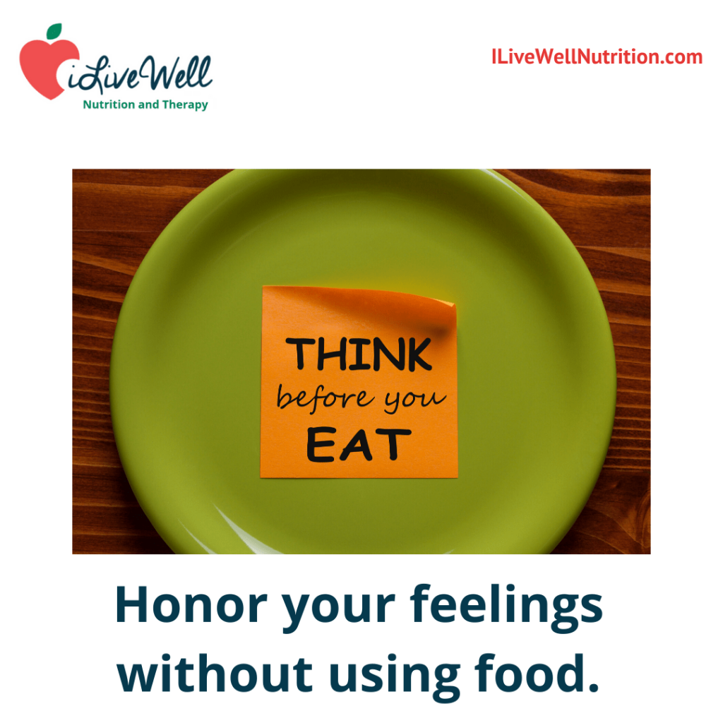 tackle your feelings before emotional eating