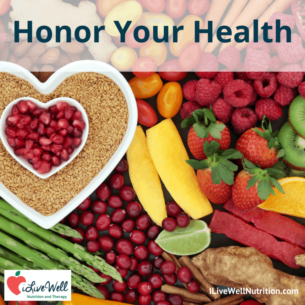 honor your health with intuitive eating
