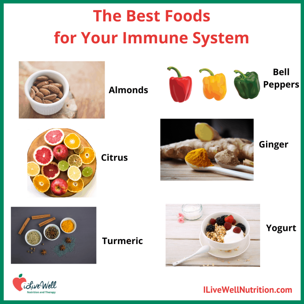 boost and improve your immune system with these foods