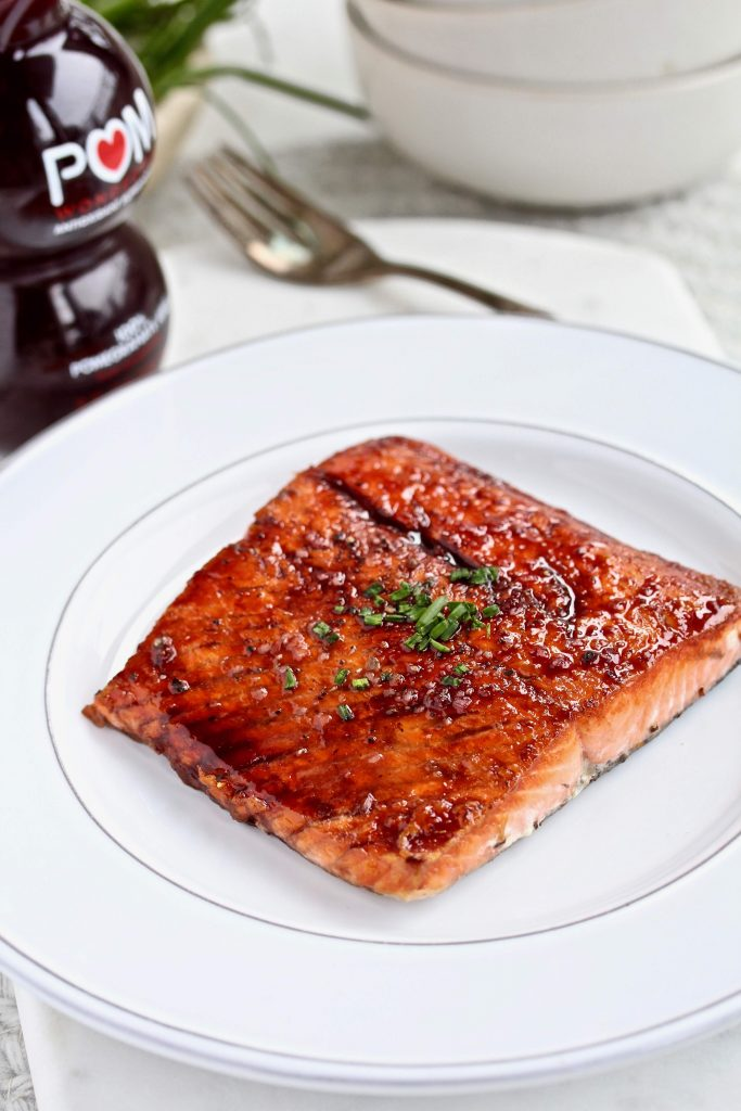 Immune Boosting dinner salmon