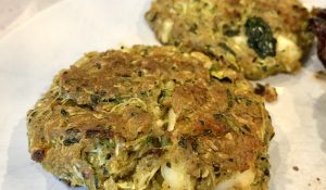 zucchini and feta patties