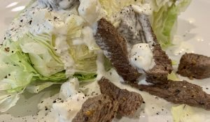 Best Blue Cheese Wedge Salad