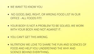 Non-Diet Dietitian