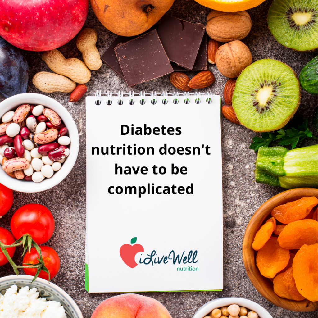 Diabetes nutrition doesn't have to be complicated