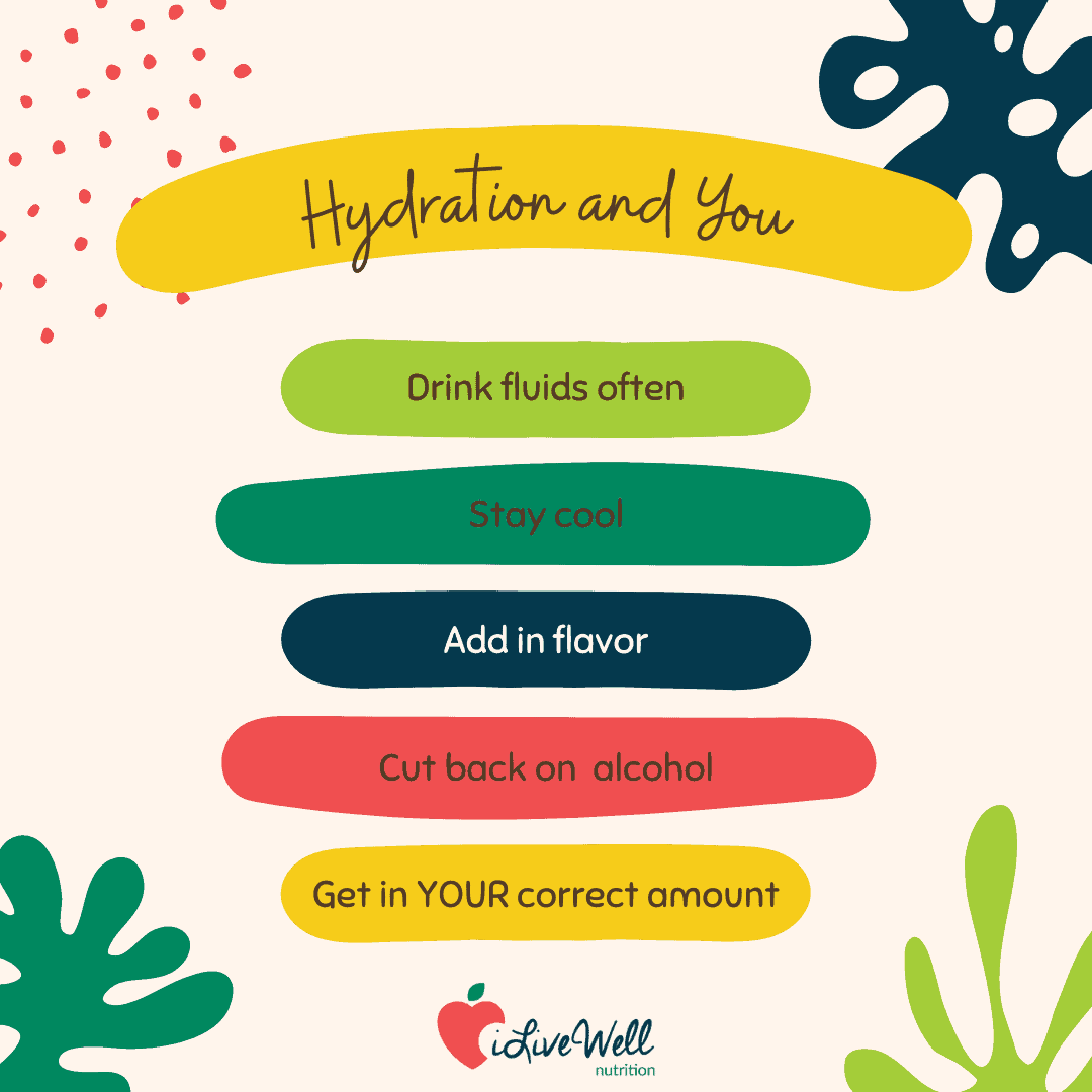 hydrate your body for your health